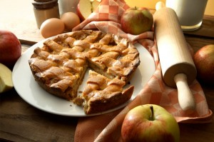 Make an Apple Pie at home with your own home grown Apples