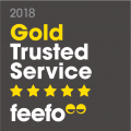 Gold Trusted Service Award 2018